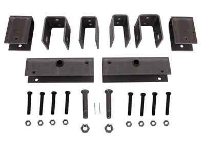 Tandem Axle Trailer Hanger Kit for Slipper Springs - 3-9/16 inch Front Height, 5-1/16 inch Rear Height, 3-3/8 inch Center Height APT6SE