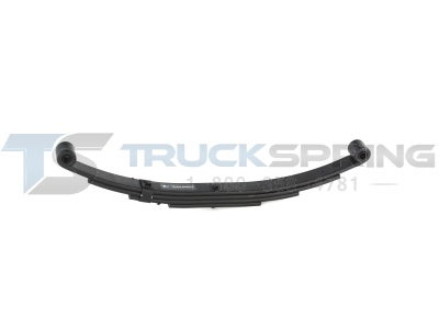 3000 lb. Capacity Utility Trailer Spring  4 Leaf  Double Eye  MTS-221 - MTS-221
