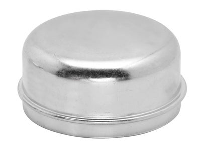 Zinc Plated Grease Cap - 2.567 Inch Outer Diameter, 1.36 Inch Tall 001515