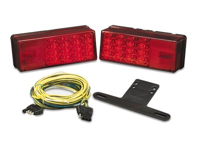 Waterproof LED 3x8 Low Profile Tail Light Kit - Over 80 inches 31-407540