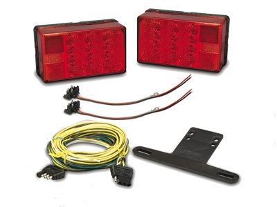 Waterproof LED 4x6 Low Profile Tail Light Kit - Over 80 inches 31-407560