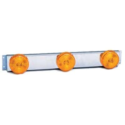 THREE #1010A 2 1/2 SEALED LAMP W/ S/S ID BAR