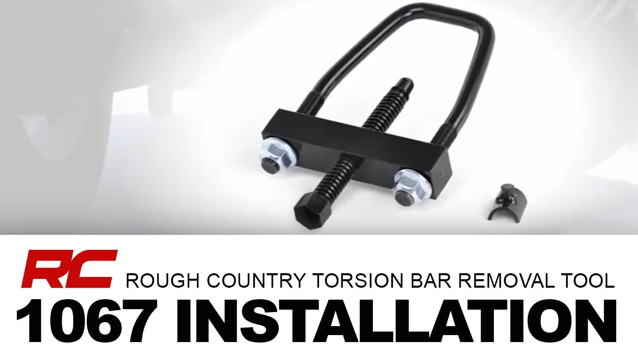 Rough Country Torsion Bar Removal Tool