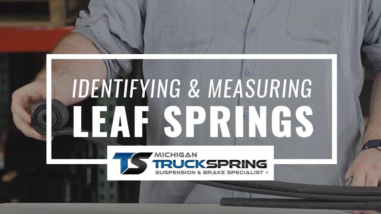 How to Measure Leaf Springs