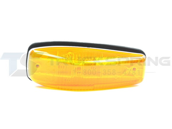 Amber Small and Aerodynamic Cab Marker Incandescent Lamp