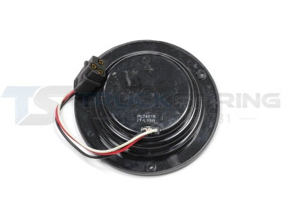 4 inch Red 44 Diode LED Stop, Tail, Turn Signal Lamps with Welded Flange Mount VSM4468X