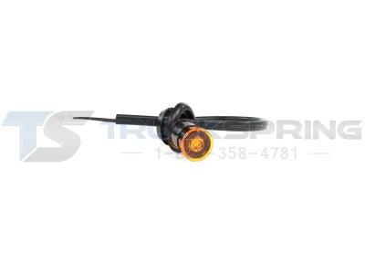 Amber Mini P2 Sidemarker Amber Lens S33-AA00-1