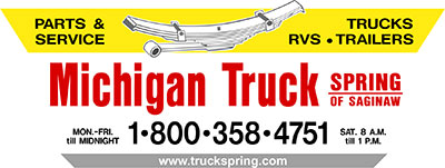 1990 - 2015 michigan truck spring logo