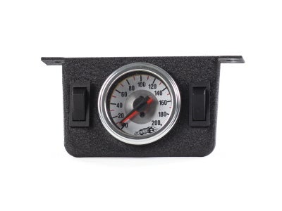 Air Lift Dual Needle Gauge with Panel AIL26157