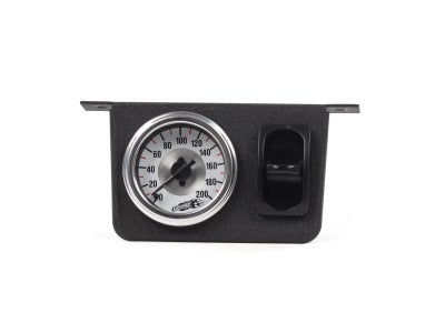 Air Lift Single Needle Gauge with One Paddle Switch AIL26161