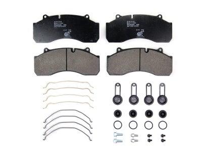 Bremskerl Air Disc Brake Pad Kit for SAF Trailer 80060046