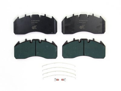 Bremskerl Air Disc Brake Pad Kit for MCI and NABI 80400015