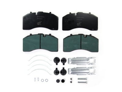 Bremskerl Air Disc Brake Pad Kit for Truck, Trailer, MCI 80400016