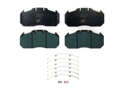 Bremskerl Air Disc Brake Pad Kit for Van Hool 80400018