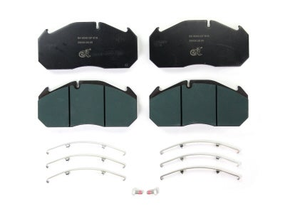 Bremskerl Air Disc Brake Pad Kit for Van Hool 80400020