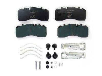 Bremskerl Air Disc Brake Pad Kit for Temsa 80400023