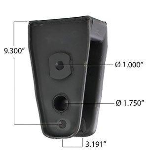 Equalizer Hanger Dimensions