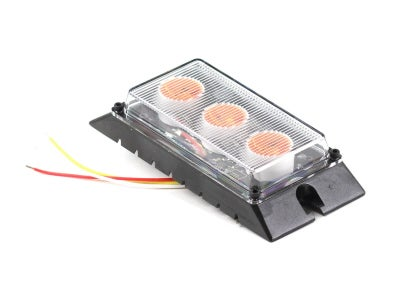 LED Low-Profile Surface Mount Warning Light - Amber LED5500-A
