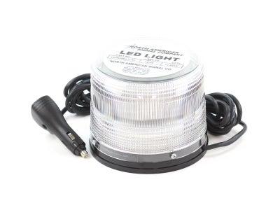 High Power LED Warning Light - Amber/White, Magnet Mount LED625MXC-AC