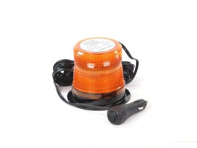 Quad-Flash Microburst LED Warning Light - Amber, Magnet Base  LEDQ375MX-A