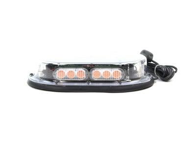 Compact LED Light Bar - Amber, Magnet Mount MINILPM-C/A