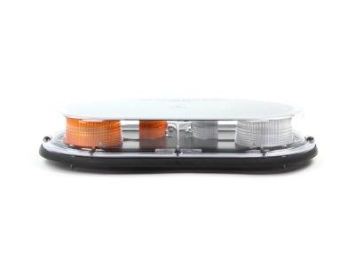 Low-Profile Quad Burst LED Mini Light Bar - Amber MMBLEDQ375-C/AC