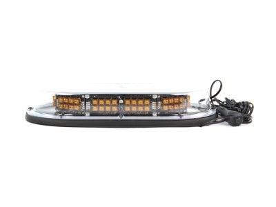 Economy Low-Profile LED Mini Light Bar - Amber MMDSLEDFLM-CA