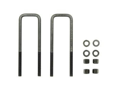 9/16 x 3 x 9-3/8 Inch - Square U-Bolt Kit