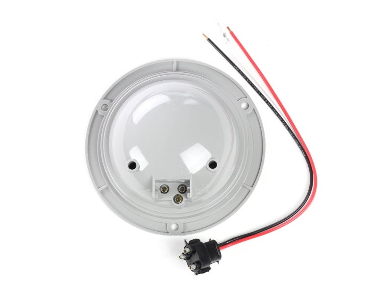 4 Inch Red Round Double Contact Stop    Tail    Turn Lamp
