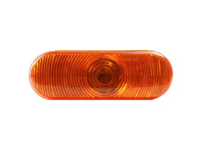 """6.53"""" Amber Oval Combination Stop / Tail / Turn Signal Incandescent Lamp"""