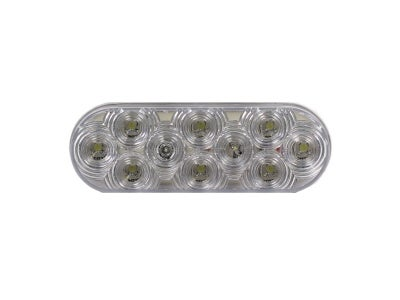 Sealed Oval LED Auxiliary Lamp VSM6464W