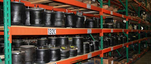 We stock a huge inventory of high quality air springs and other suspension parts.