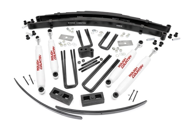 4in Dodge Suspension Lift Kit RC325.20