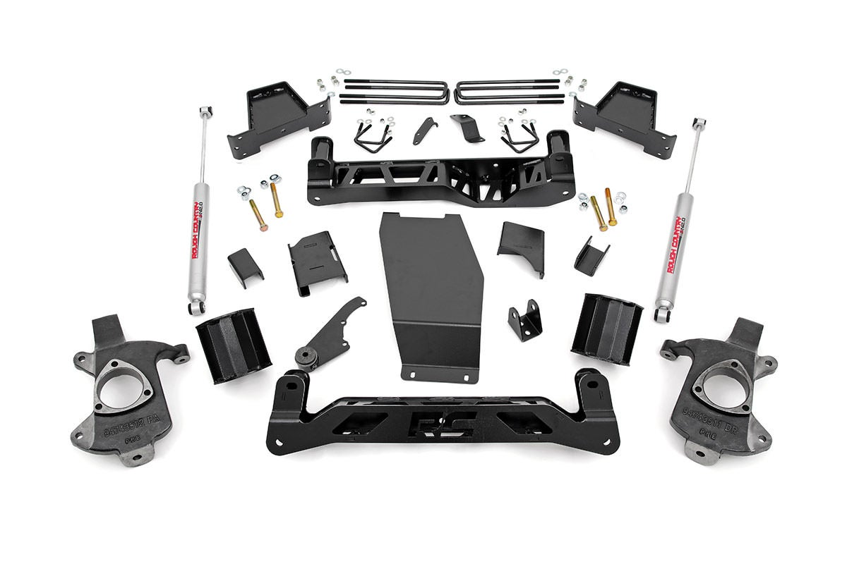 6-inch Suspension Lift Kit (Factory Steel Knuckles) RC226.20